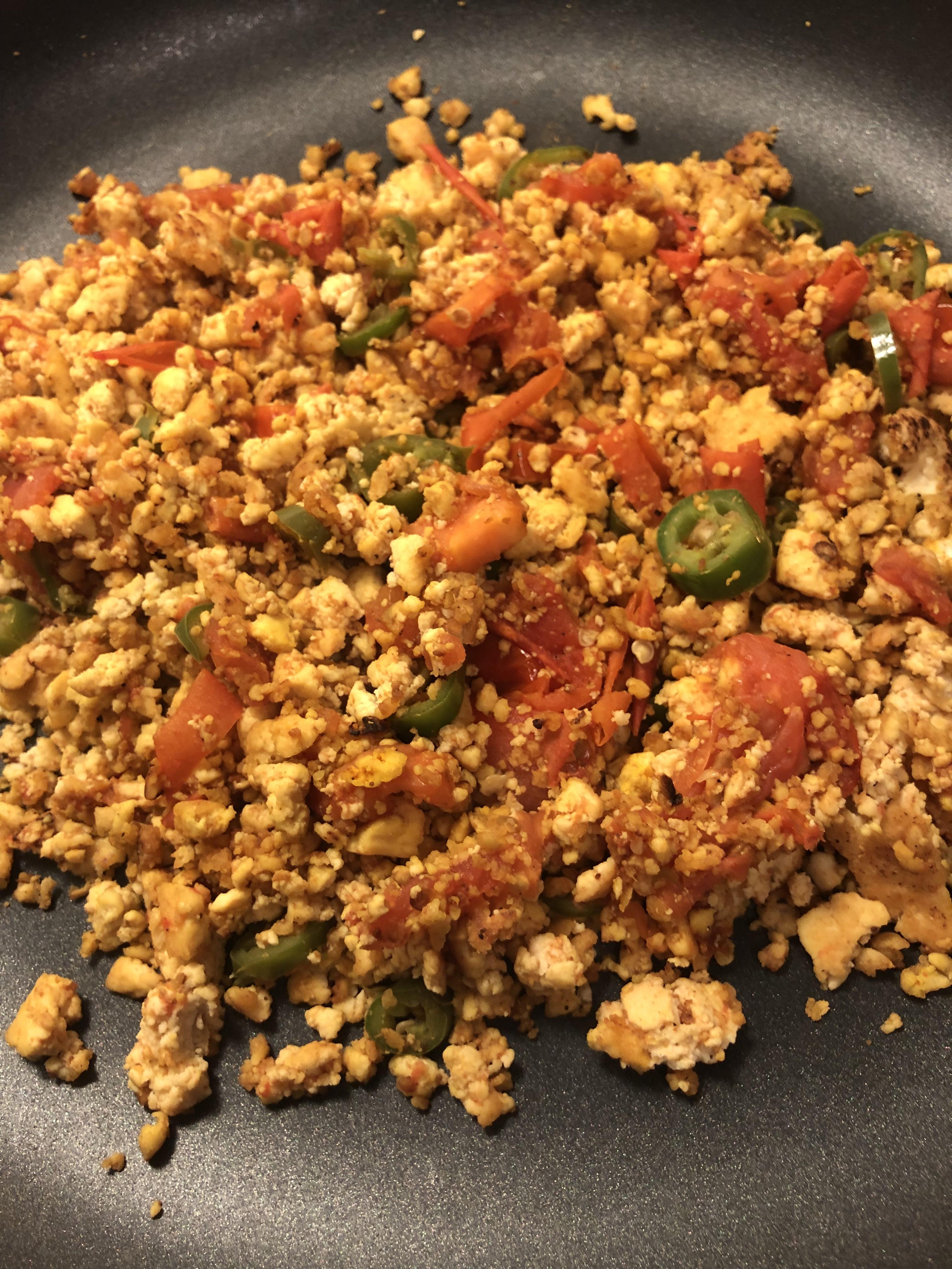 Tofu Keema Curry – Vegetarian High Protein Meal | FLEX Nepal